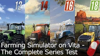 Farming Simulator 12/14/16/18 - Framerate Test for PS Vita
