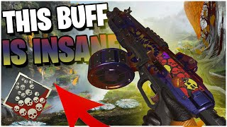 This Shotgun BUFF makes this Weapon INSANE (Apex Legends PS4)
