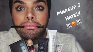 Full Face Using Makeup Products I HATE | CarmiMua