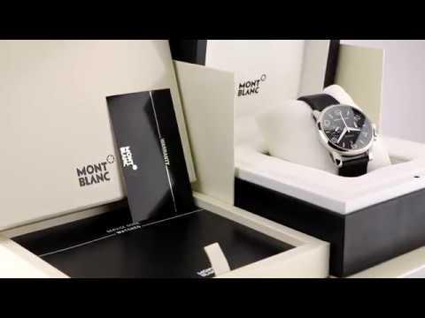 Les montres Montblanc Timewalker Chronograph 36973 d'occasion de demcoquartz.com