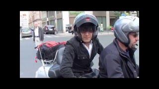 La moto-taxi sur Paris : relaxant !