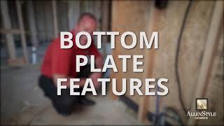 Framing - Part 1 - Wind Bracing, Plumbing, Bottom Plate Features, & Lumber