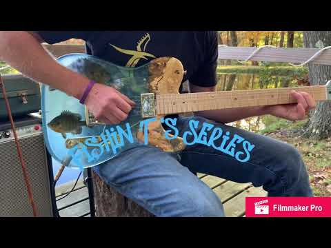 Epoxy Resin Guitar Blue Gill Telecaster