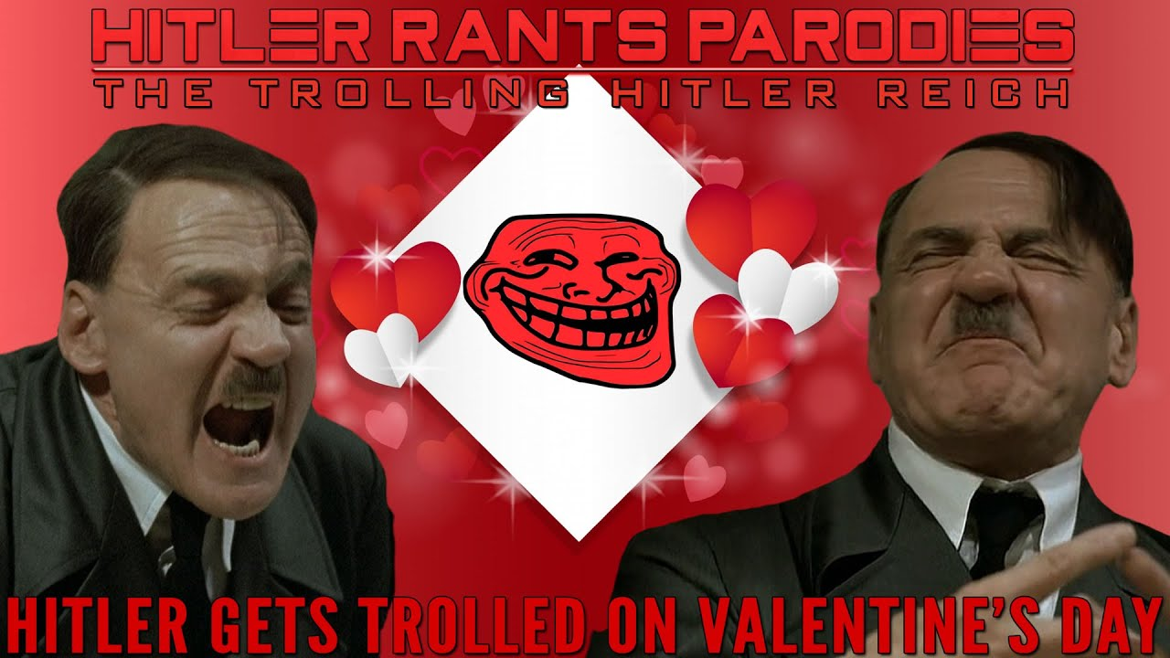 Hitler gets trolled on Valentine's Day