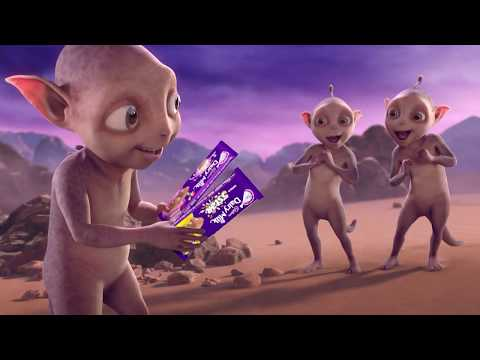 The new Cadbury Martians have arrived