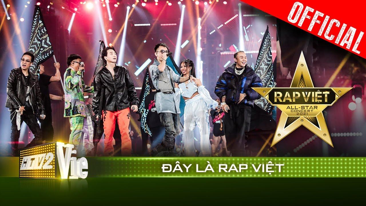 Live concert: Đây Là Rap Việt - Wowy, Karik, Suboi, Binz, Rhymastic, JustaTee|Rap Việt All-Star 2021