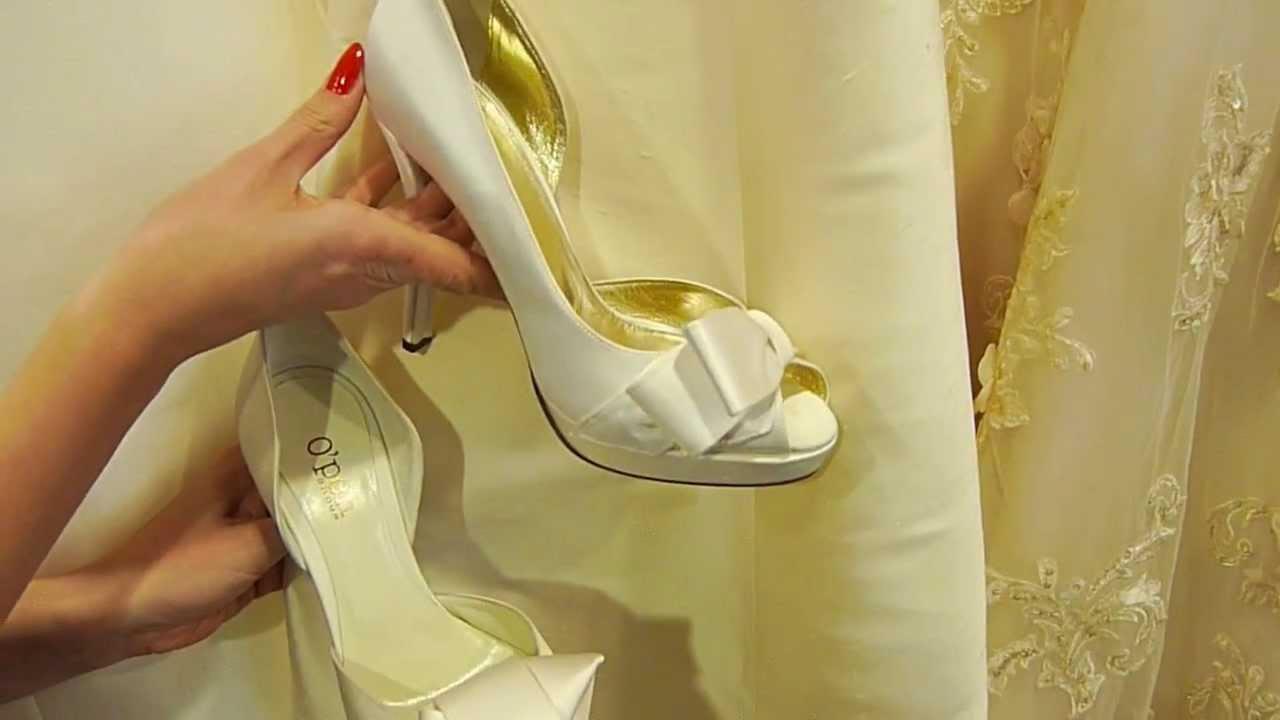 De juiste kleur bruidsschoenen bij je trouwjurk!