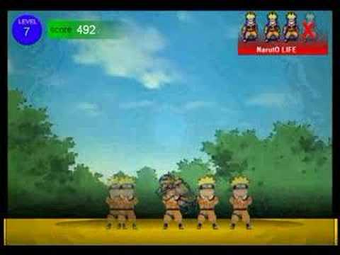 Naruto Free Online Game First 12 Levels