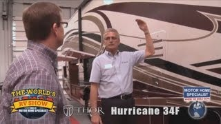 Motor Home Specialist Review of Thor Hurricane RV at The World's RV Show MHSRV.com