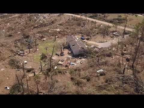 Steve Knoll - Drone Footage Shows Destruction of EF-4 Alabama Tornado