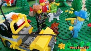 LASTENOHJELMIA SUOMEKSI - Lego city - Metsäpalovaroitus - osa 3