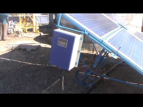 2 KW SOLAR WATER PUMPING SYSTEM