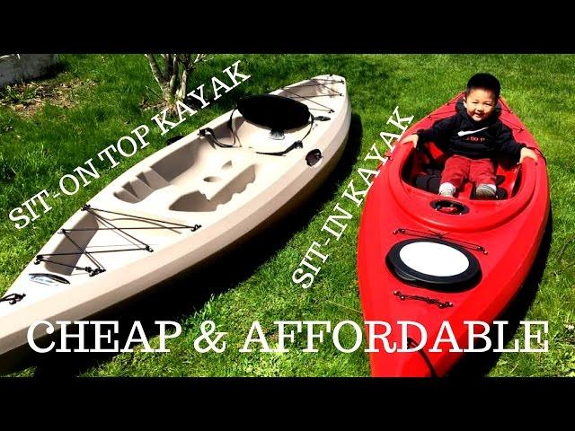 SIT-ON TOP KAYAK / SIT-IN KAYAK REVIEW Future Beach Kayak 10.4