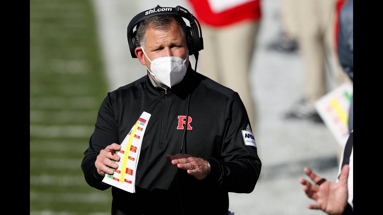 Greg Schiano talks big win over Michigan State postgame -- Rutgers Scarlet Knights Football