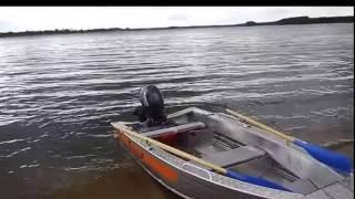 Как сделать тележку для  лодочного мотора (четырех тактного)
