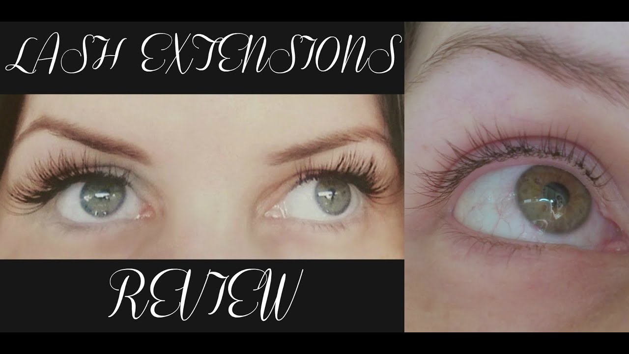 Eyelash Extensions Review   My experience & Tips - YouTube