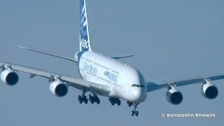 А380 крутой заход МАКС 2013 A380 steep approach MAKS 2013