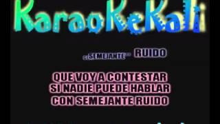 LOS RIVALES - LA CANTALETA KARAOKE DEMO
