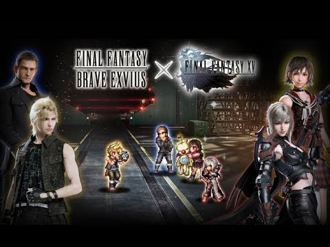 【FFBE】FFXV Prompto and Aranea 【Global】