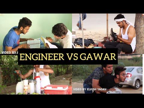 ENGINEER VS GAWAR - |ELVISH YADAV|