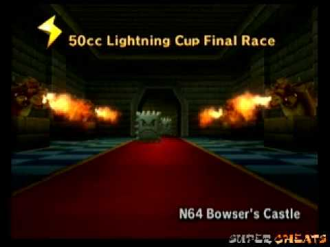 Mario Kart Wii Music N64 Bowser S Castle