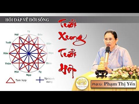 Phật Tử Phạm Thị Yến | Tuổi Xung Tuổi Hợp