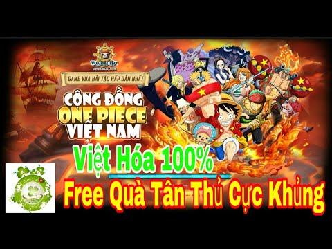 Web Game One Piece Việt Hóa 100%   Free VIP12 - 500.000 Vàng + 1 Tỷ Beri + Tướng VIP Shop