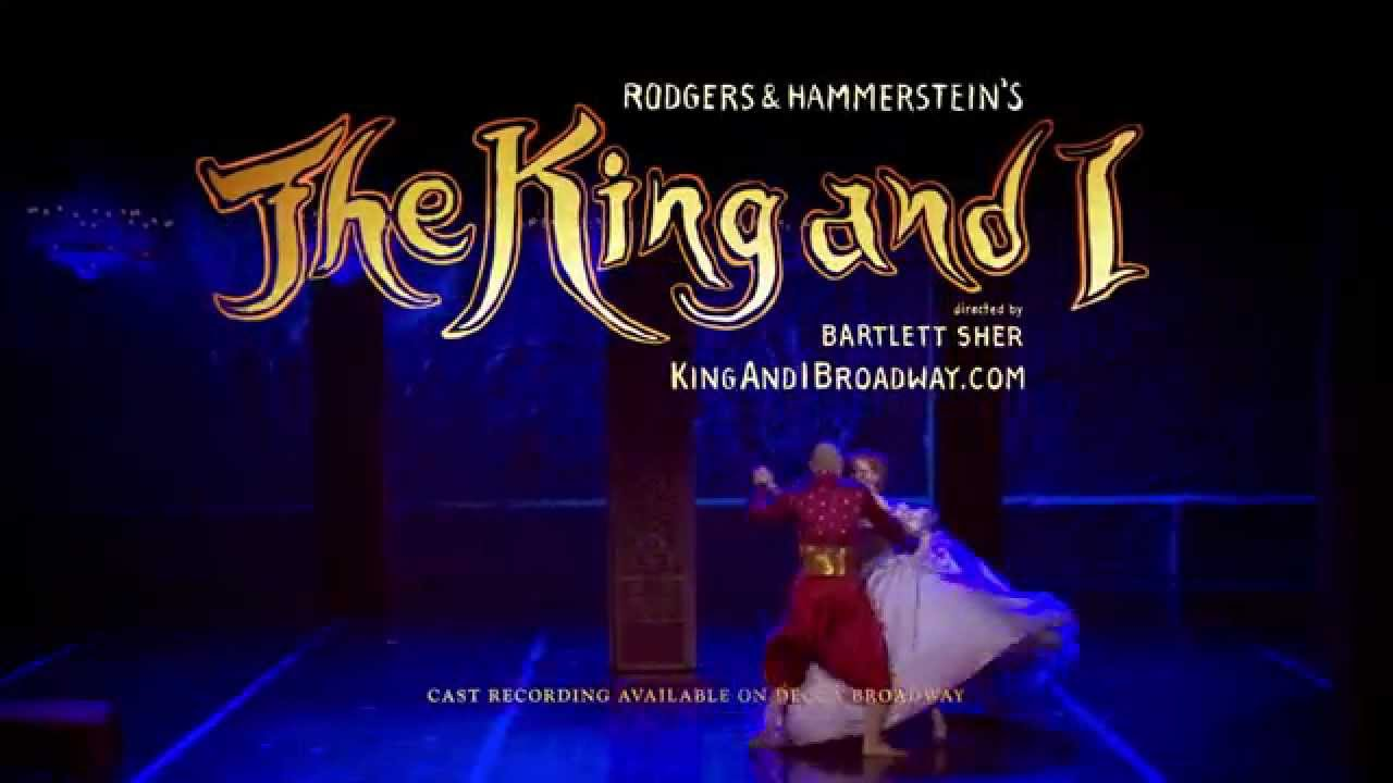 Winner! 4 Tony Awards! Watch THE KING AND I commercial.