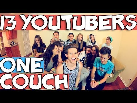 13 YOUTUBERS ONE COUCH | RICKY DILLON