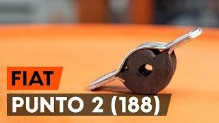 Hvordan bytte Bremsetrommel FIAT PUNTO (188) - online gratis video