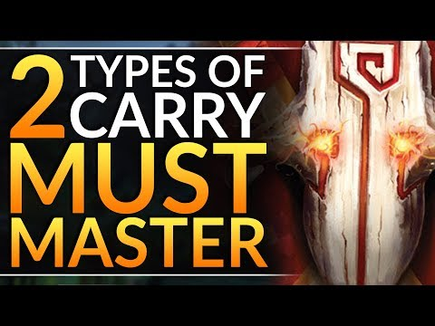 The 2 TYPES Of CARRY HERO - Pro Tips To Choose The BEST CORE FOR YOU | Dota 2 Ranked Guide