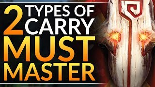 the 2 TYPES of CARRY HERO - Pro Tips to Choose the BEST CORE FOR YOU  Dota 2 Ranked Guide