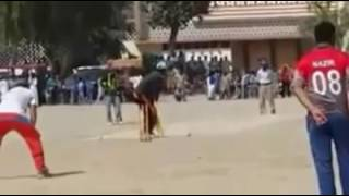 Shahbaz Kalia & Bholi vs Khuram Chakwali Semi Final Tapeball cricket