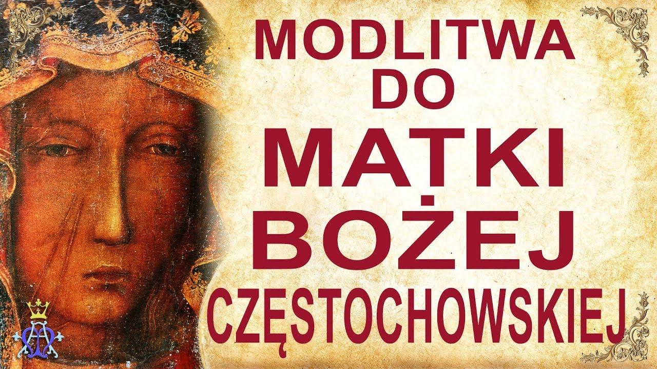 Download Modlitwa do Matki Bożej Częstochowskiej