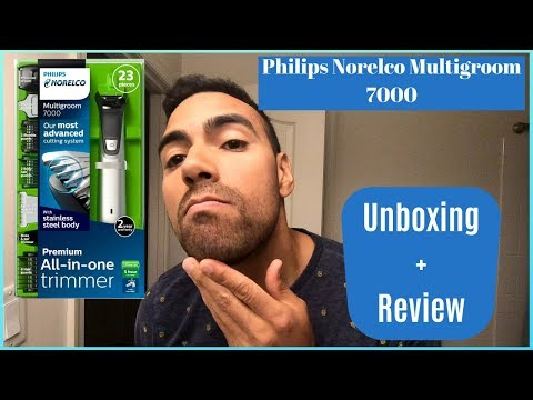 Philips Norelco Multigroom 7000 | Unboxing + Review