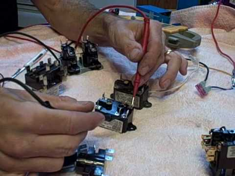hqdefault hvac relays and heat sequencers youtube electric furnace fan relay wiring diagram at eliteediting.co