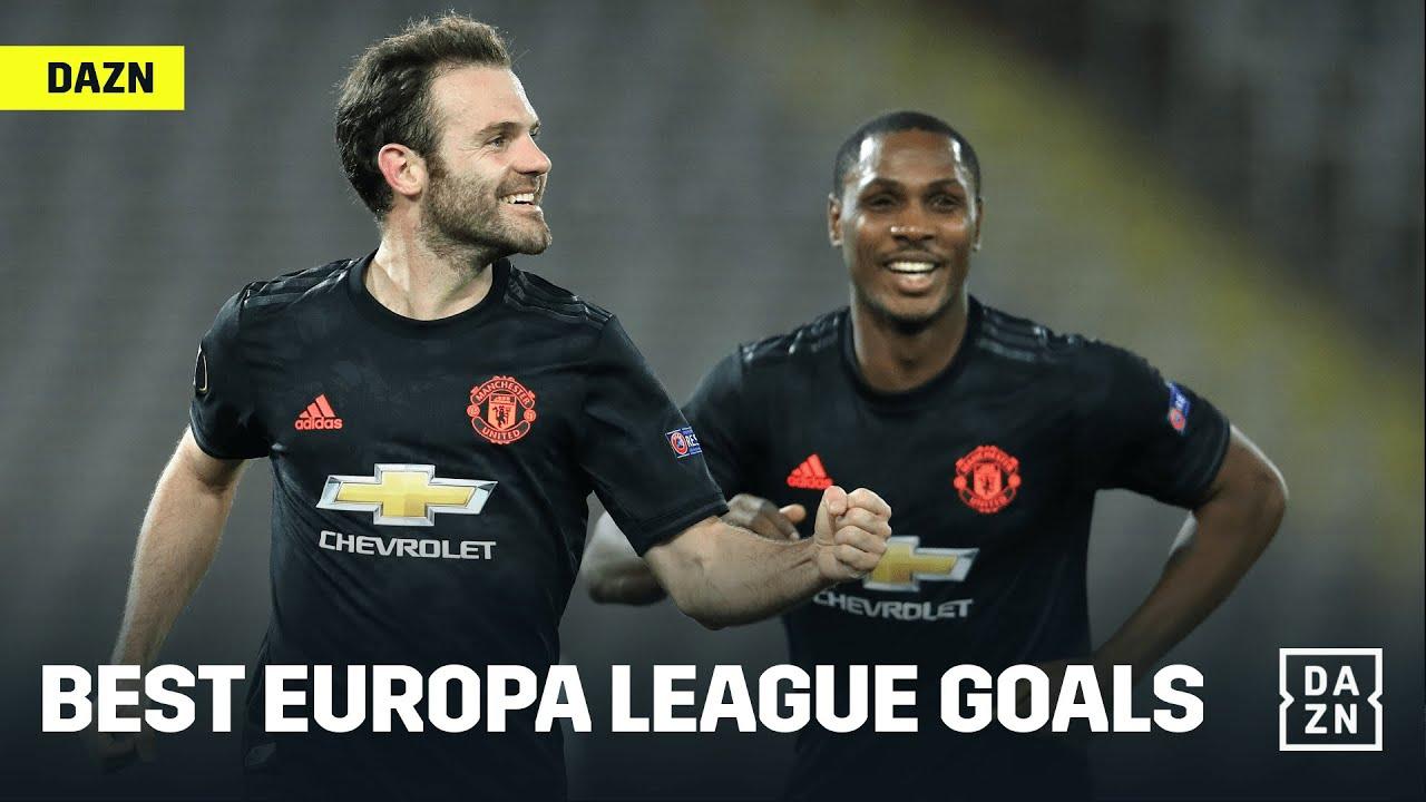 The BEST Europa League Goals Of The Tournament (So Far)