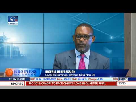 Business Morning: Strategies To Drive Fx Based Earnings To Aid Nigeria's Economy Pt.1