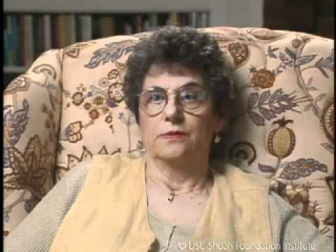 Jewish Survivor Anneliese Schwab Testimony