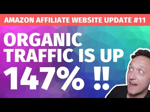 BIG PLANS for My Affiliate Marketing Site PLUS Traffic and Earnings are UP UP UP! - UPDATE #11 thumbnail