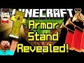 Minecraft ARMOR STANDS Revealed! New in 14w32a Snapshot!
