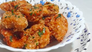 Golden Fried Prawns recipe /Crispy #Fried Prawns #Prawns #starter_recipes