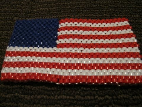 United States Flag Lanyard