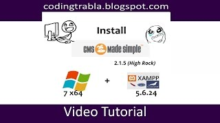 Install CMS Made Simple 2.1.5 ( CMSMS ) on Windows 7 localhost - opensource PHP CMS byAO
