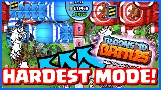Bloons TD Battles - INSANE NEW GAME MODE! RANDOM TRIO! - Hardest BTD Battles Game Mode Ever!