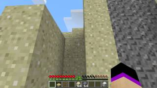 трюки в Minecraft: #3 Как быстро добывать песок и гравий