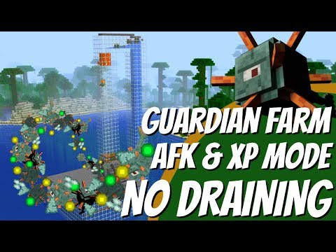Minecraft XP Farm WITH NO MOBS for Minecraft 1.14 made