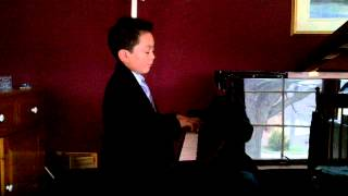 Leading Note Music:  Kai performing the Bronze Bear by Yvonne Adair May 2013