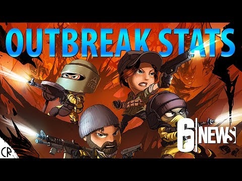 Outbreak Stats & End - News - 6News - Tom Clancy's Rainbow Six Siege - R6