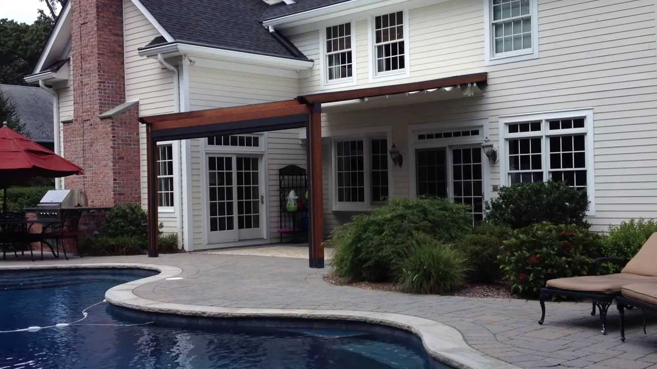 Shade Pergola Attached To House